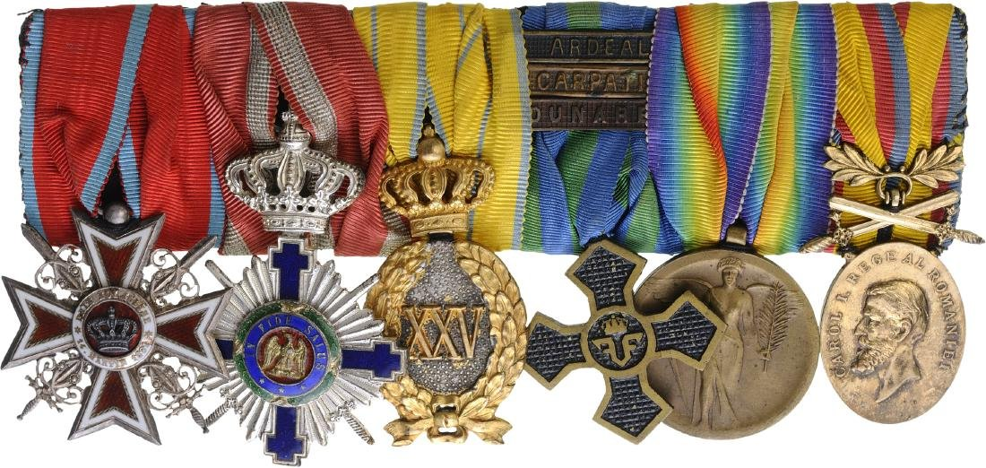 Group of Orders (2) and Medals (4)