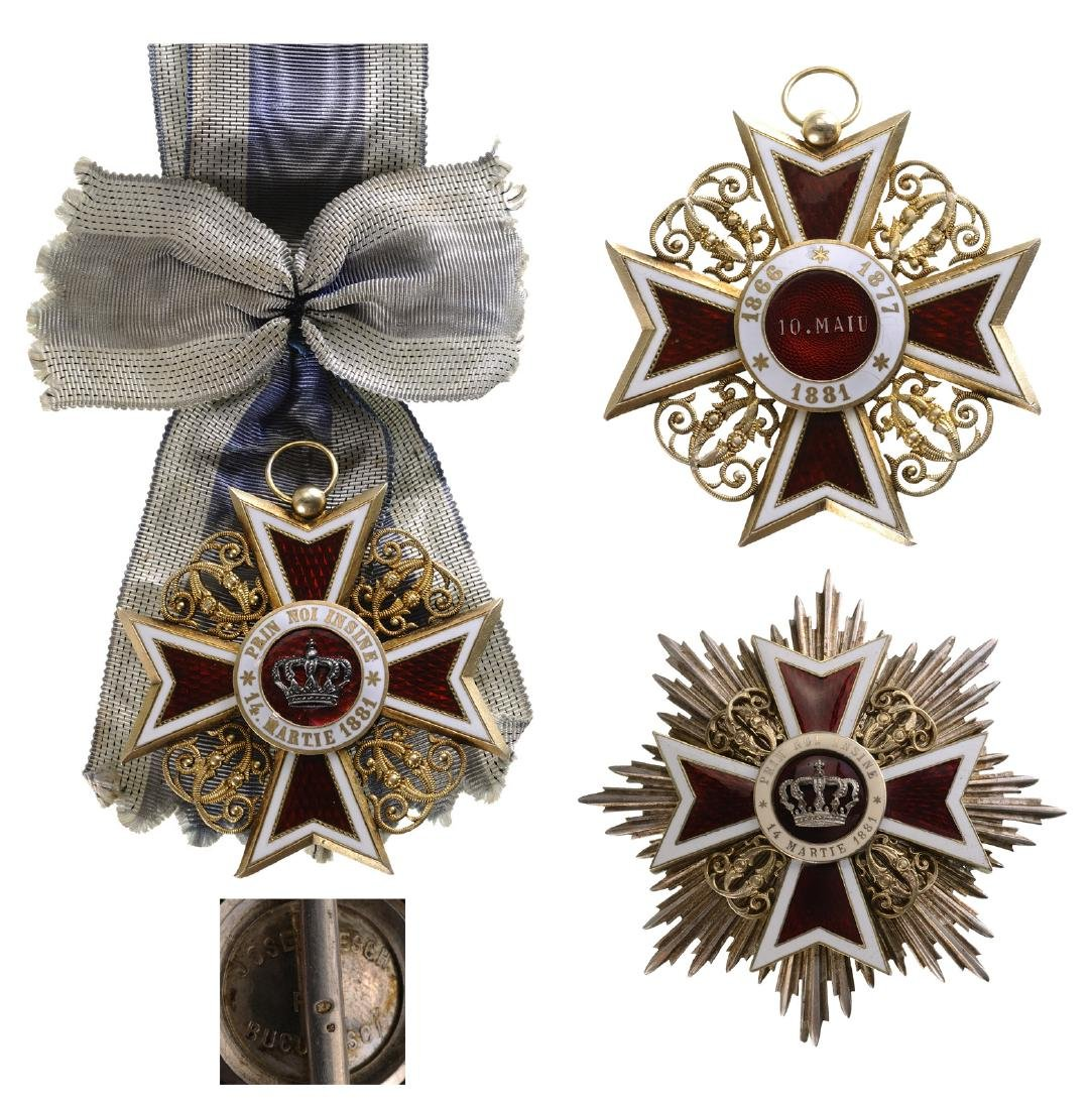 ORDER OF THE CROWN OF ROMANIA, 1883