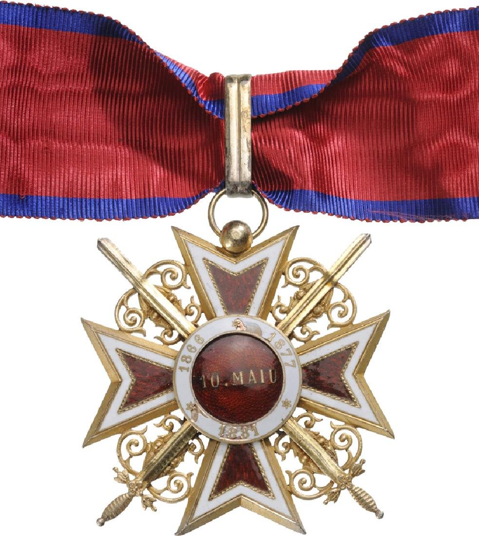 ORDER OF THE CROWN OF ROMANIA, 1881 - 2
