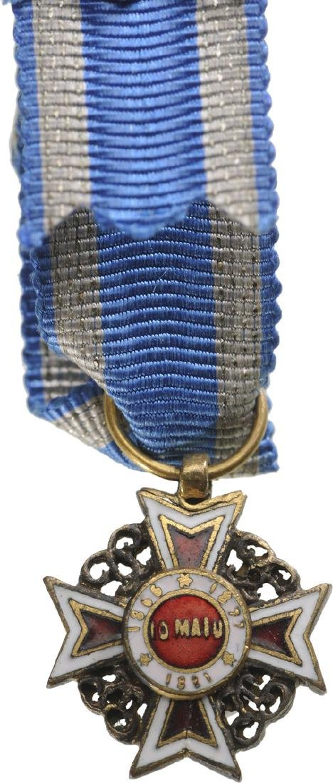 ORDER OF THE CROWN OF ROMANIA, 1883 - 2