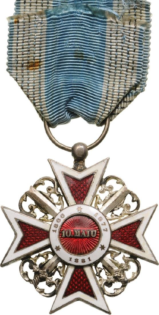 ORDER OF THE CROWN OF ROMANIA, 1887 - 2