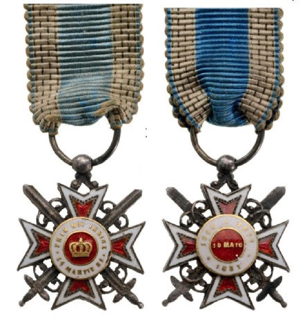 ORDER OF THE CROWN OF ROMANIA, 1882