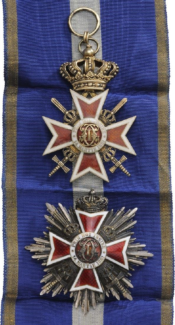 ORDER OF THE CROWN OF ROMANIA, 1881