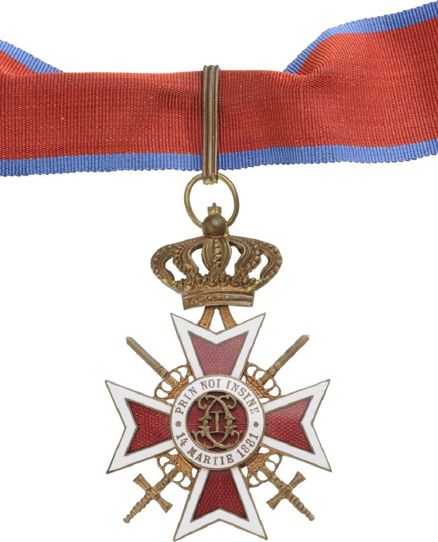 ORDER OF THE CROWN OF ROMANIA, 1881 - 3