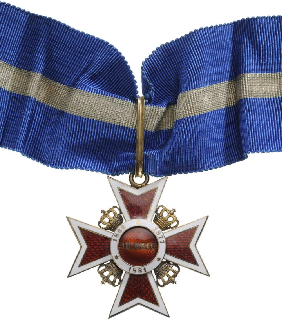 ORDER OF THE CROWN OF ROMANIA, 1881 - 4