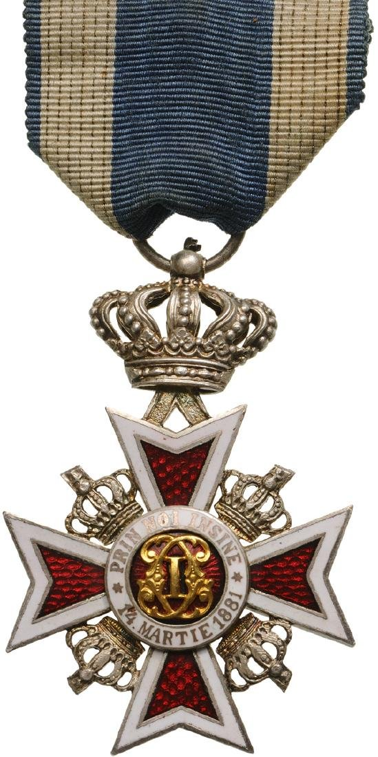 ORDER OF THE CROWN OF ROMANIA, 1884