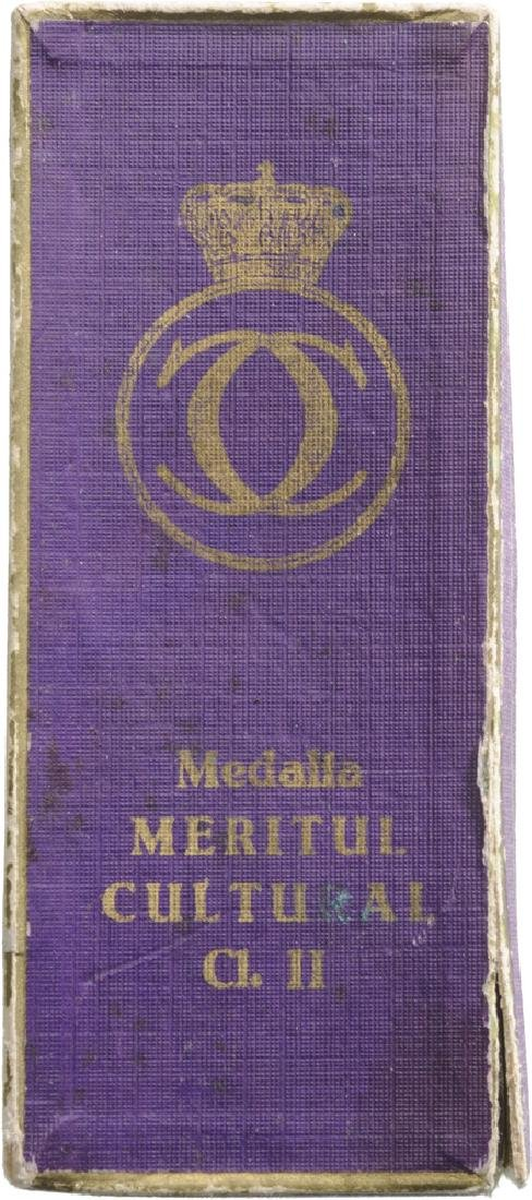 MEDAL OF CULTURAL MERIT, 1st Model, 2nd Class, - 2