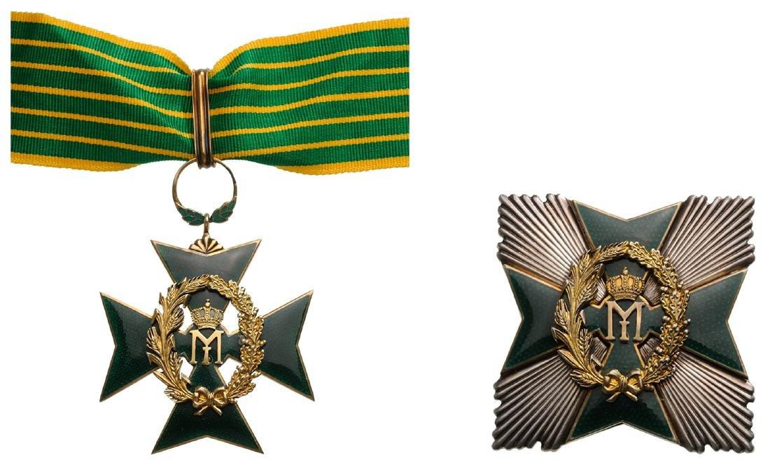 Order of Agricultural Merit, Grand Officer's Set, 2nd