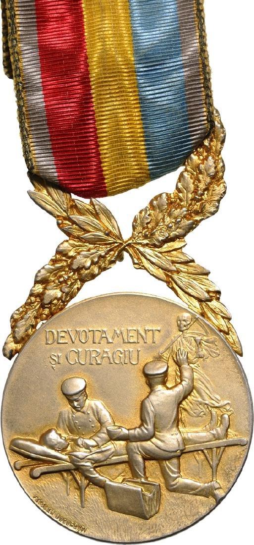 """""""Devotamentu si Curagiu"""" Medal, 1st Class, by the"""