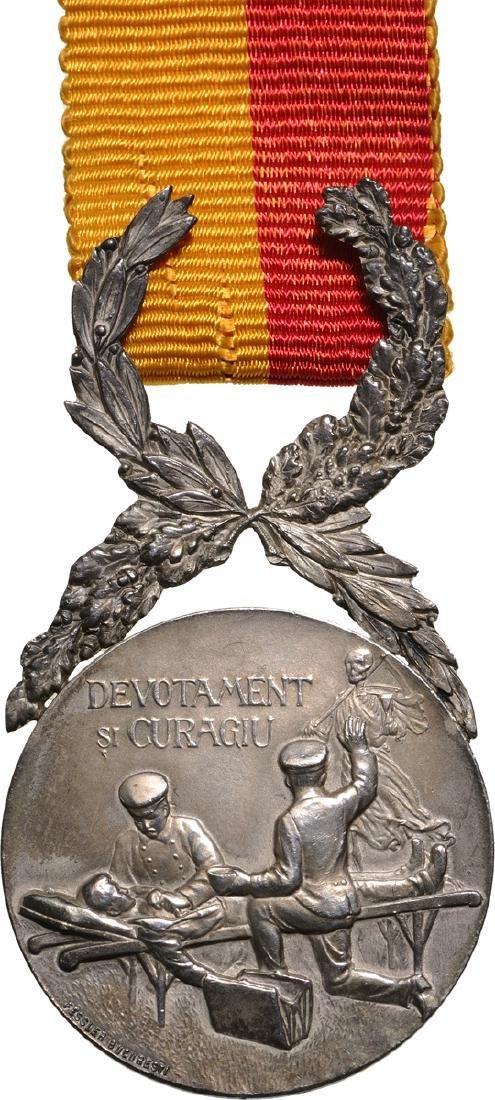 """""""Devotamentu si Curagiu"""" Medal 2nd Class, by the"""