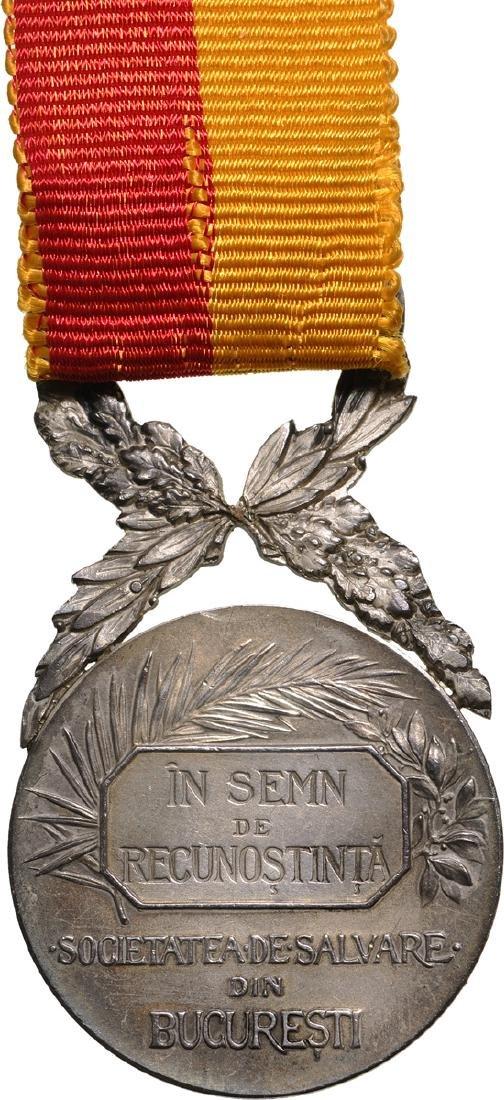 """""""Devotamentu si Curagiu"""" Medal 2nd Class, by the - 2"""