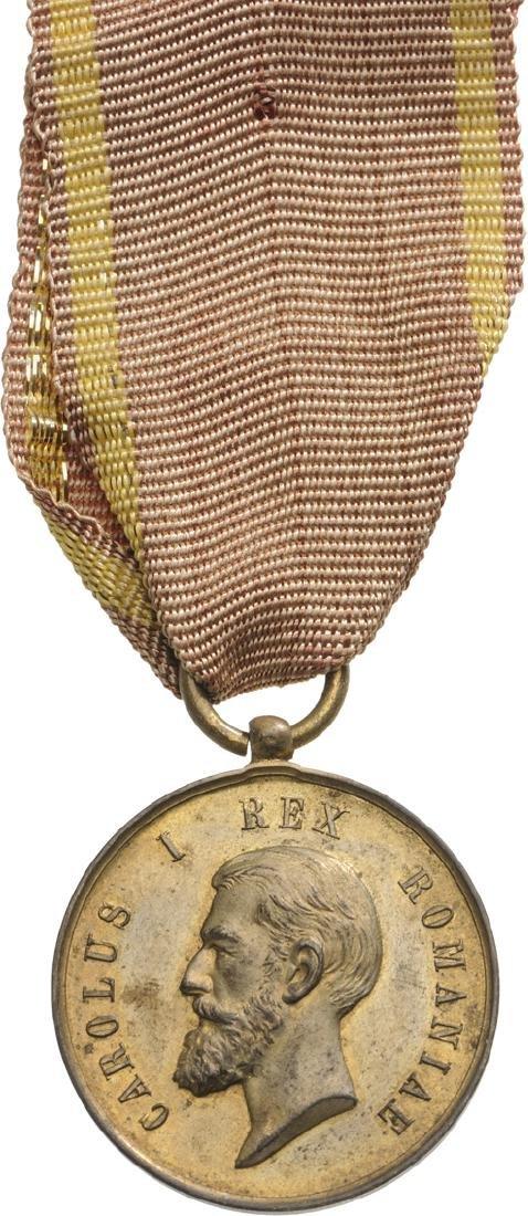 "Bene Merenti Medal, 2nd Model ""Rex"", 1st Class, 1876"