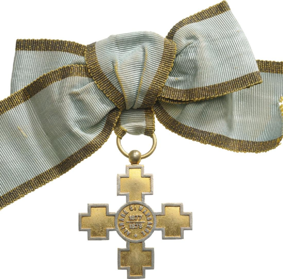 "Elisabeth ""Alinare si Mangaiere"" Cross, Instituted in"