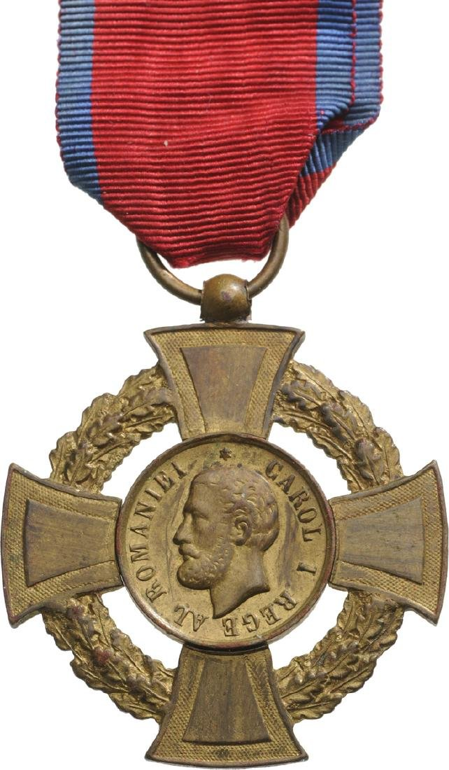 "MILITARY VIRTUE CROSS, 1st Class, 1880, ""REGEâ€"