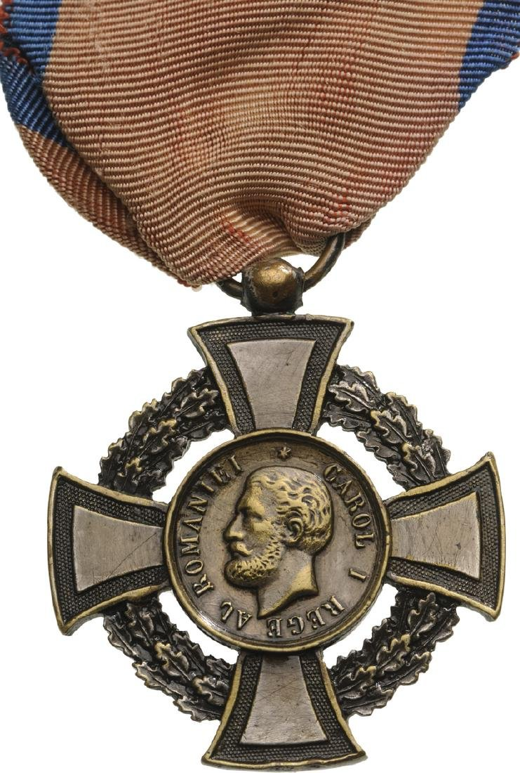 "MILITARY VIRTUE CROSS, 2nd Class, 1880, ""REGEâ€"