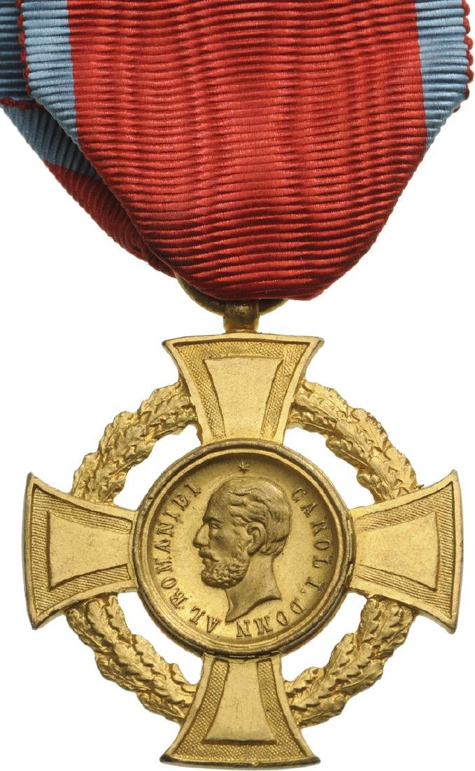The Military Virtue Cross, 1st Class, 1880