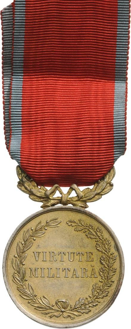 Military Virtue Medal, 1st Class, 1872 - 2