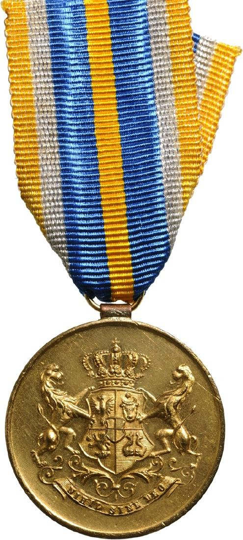 Medal of Faithfull Service, 1st Type, Civil, 1st Class,
