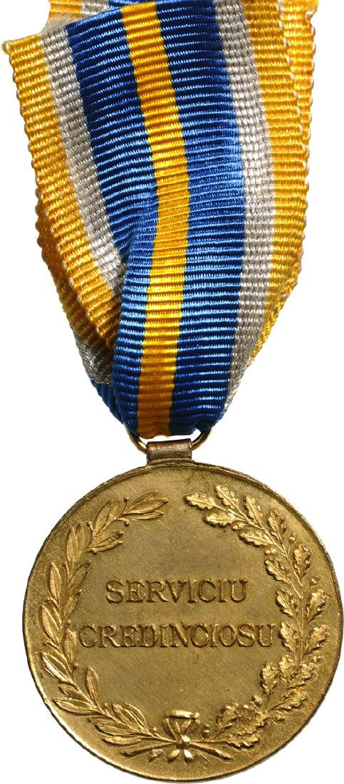 Medal of Faithfull Service, 1st Type, Civil, 1st Class, - 2