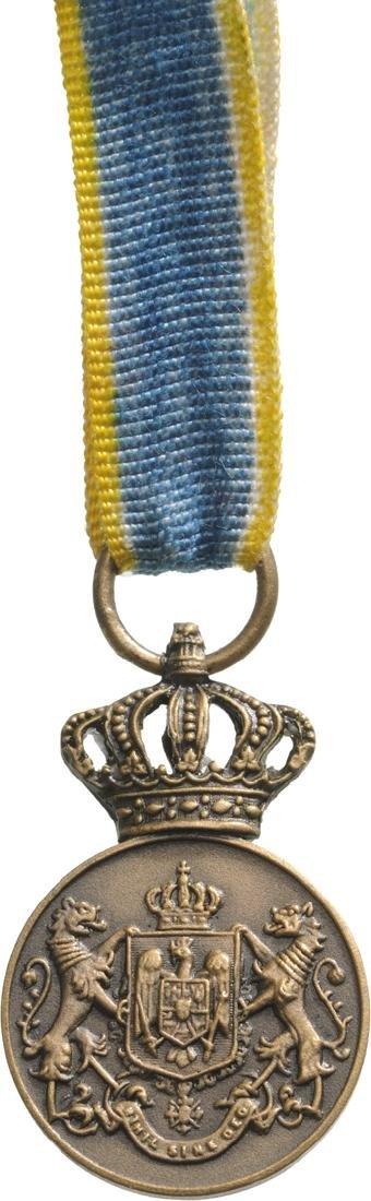 Medal of Faithfull Service Miniature, 1st Type, Civil,