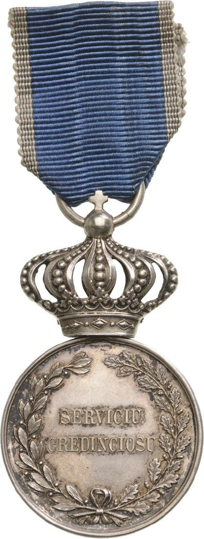 Medal of Faithfull Service, 1st Type, Civil, 2nd Class, - 2