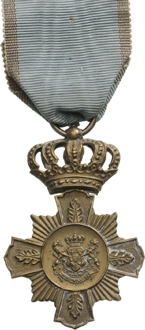 Cross of Faithfull Service, 1st Type, Civil, 1st Class,