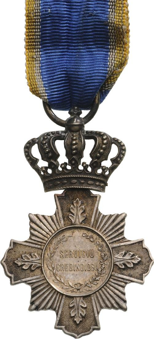 Cross of Faithfull Service, 1st Type, Civil, 2nd Class, - 2