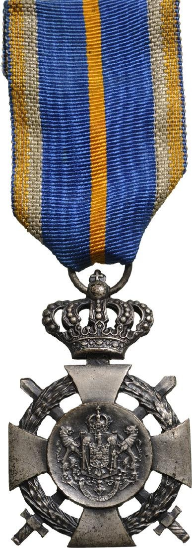 Cross of Faithfull Service, 2nd Type, Military, 2nd