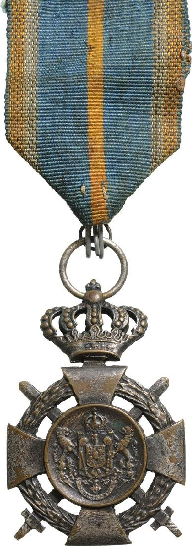 Cross of Faithfull Service, 2nd Type, Military, 3rd