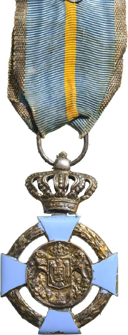 Cross of Faithfull Service, 2nd Type, Civil, 2nd Class,