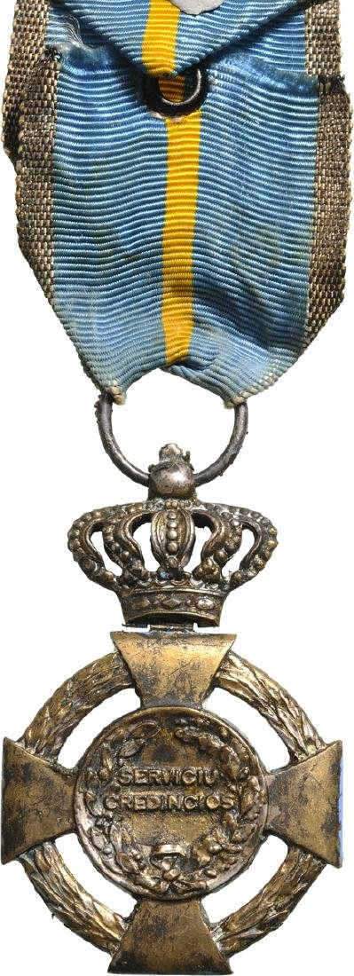 Cross of Faithfull Service, 2nd Type, Civil, 2nd Class, - 2