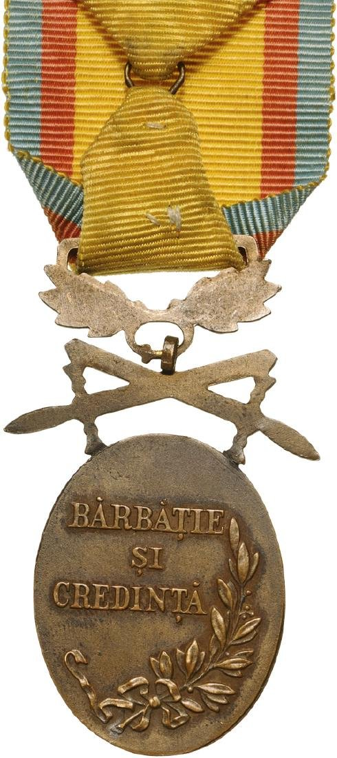 Manhood and Loyalty Medal, 3rd Class, Military - 2