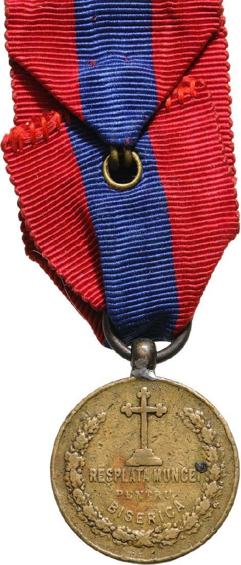 Medal of Merit of Work for the Church, 1st Model - 2
