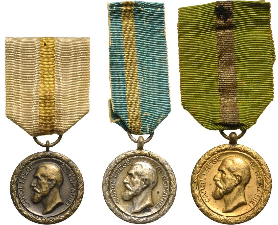 The Commercial and Industrial Merit Medal, Set 1-3
