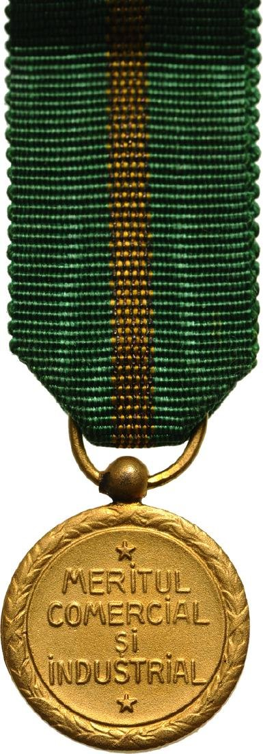 The Commercial and Industrial Merit Medal, 1st Class - 2