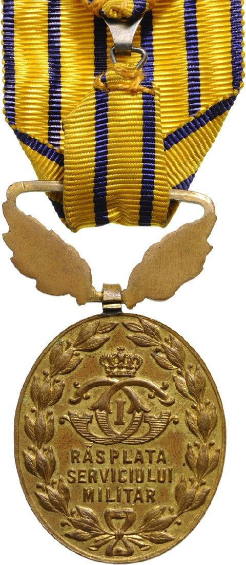 Badge of Reward for 15 Years of Military Service, - 2