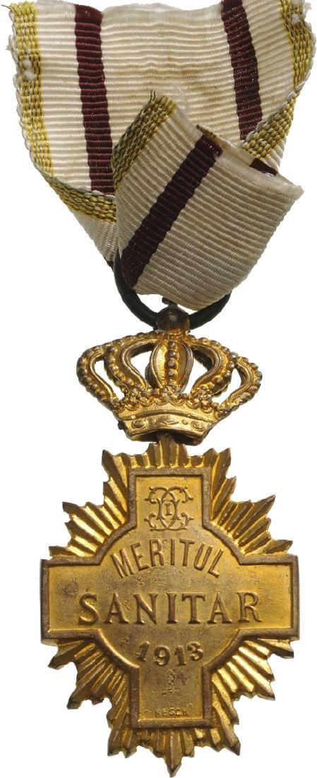 Sanitary Merit Medal, 1st Class, 1913 - 4