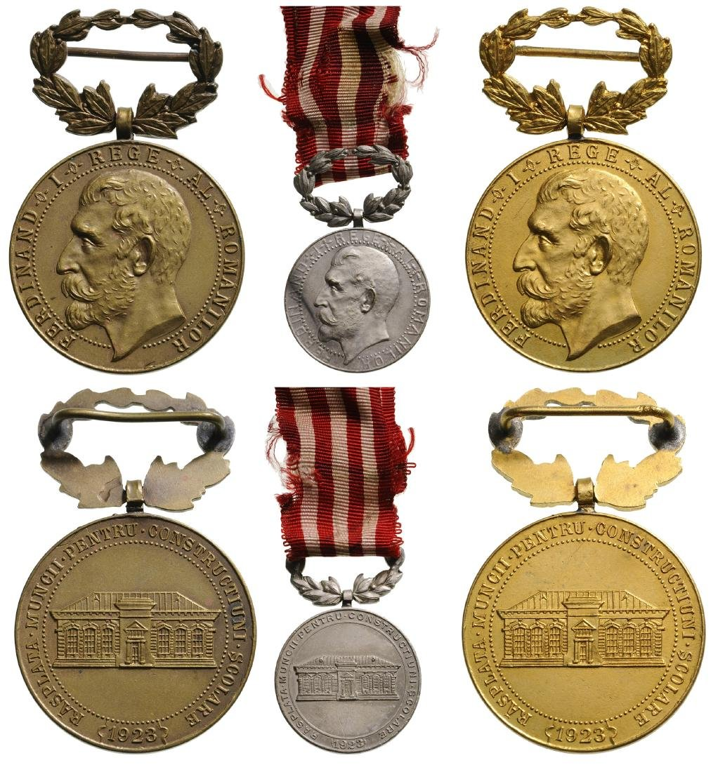 School Medal, Set 1-3 Classes, instituted in 1923