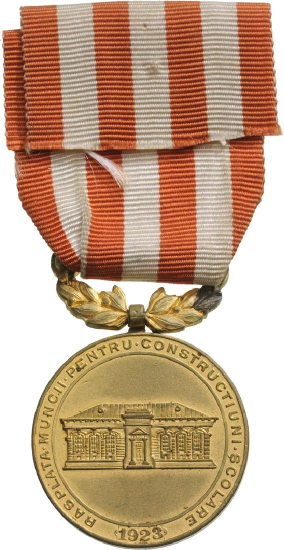 School Medal, 1st Class, instituted in 1923 - 2