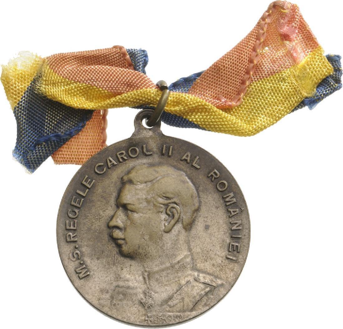 Carol II - School Prize Medal, 2nd Prize