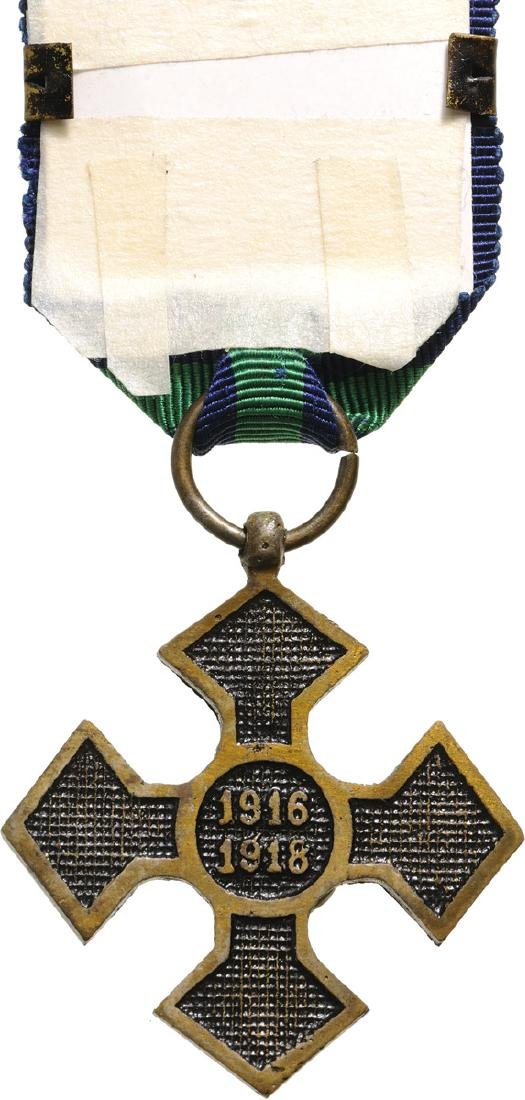 "The ""Commemorative Cross of the 1916-1918 War"", 1918 - 2"
