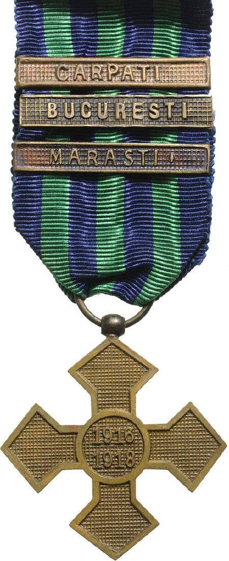 "The ""Commemorative Cross of the 1916-1918 War"" , 1918"
