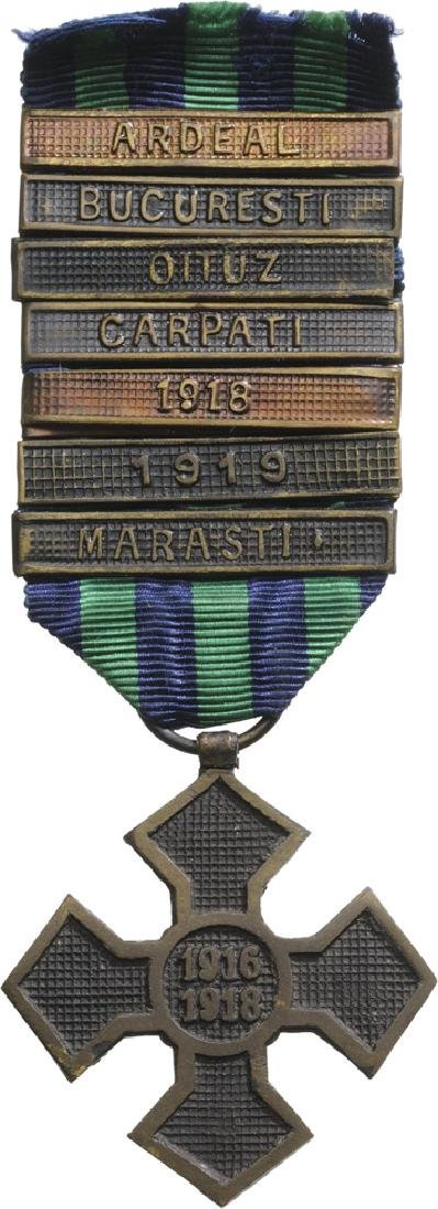 """The """"Commemorative Cross of the 1916-1918 War"""", 1918"""