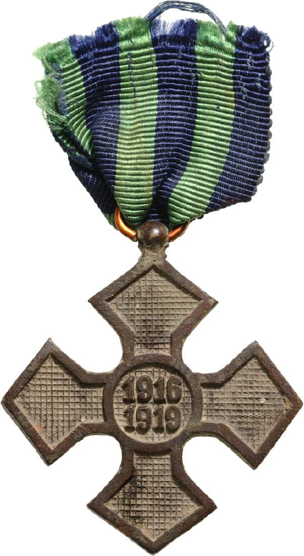 """The """"Commemorative Cross of the 1916-1918 War"""", 1919"""