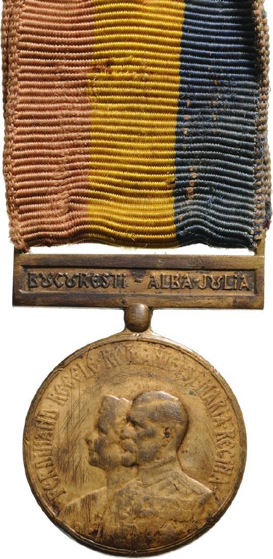 Ferdinand I - Coronation Medal 1922