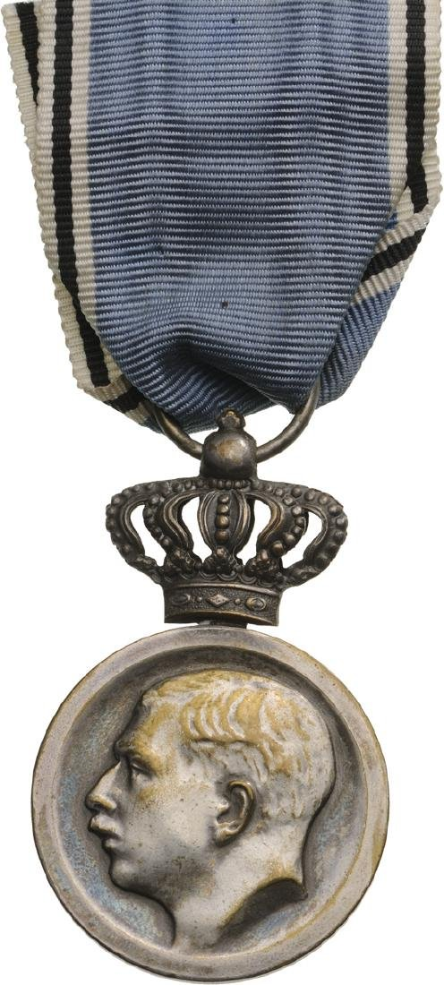 Medal in Rememberance of King Carol I, 2nd Class,