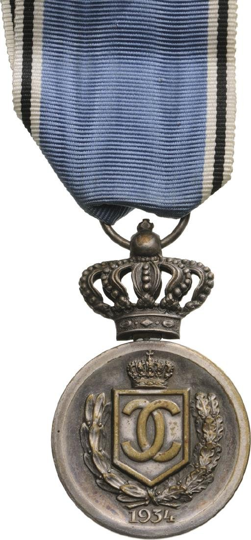 Medal in Rememberance of King Carol I, 2nd Class, - 2