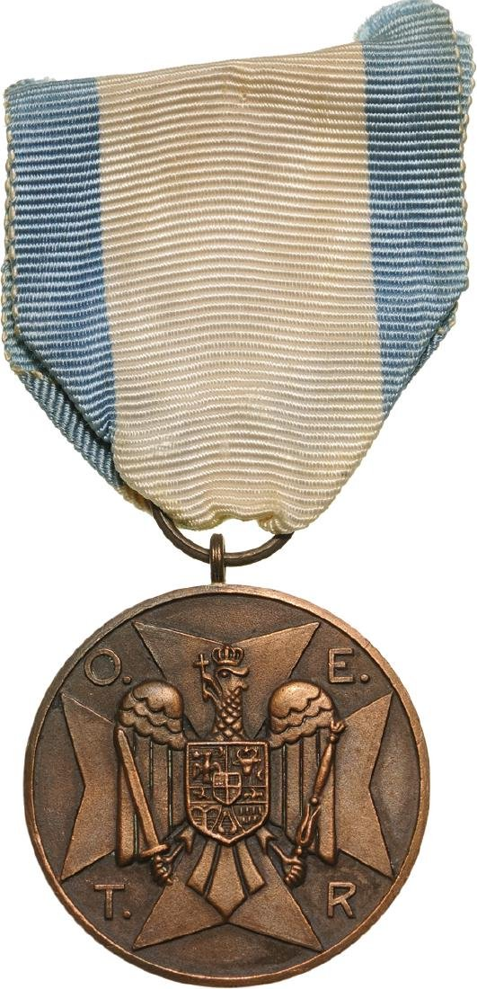 Civil Guard Medal, O.E.T.R. initials