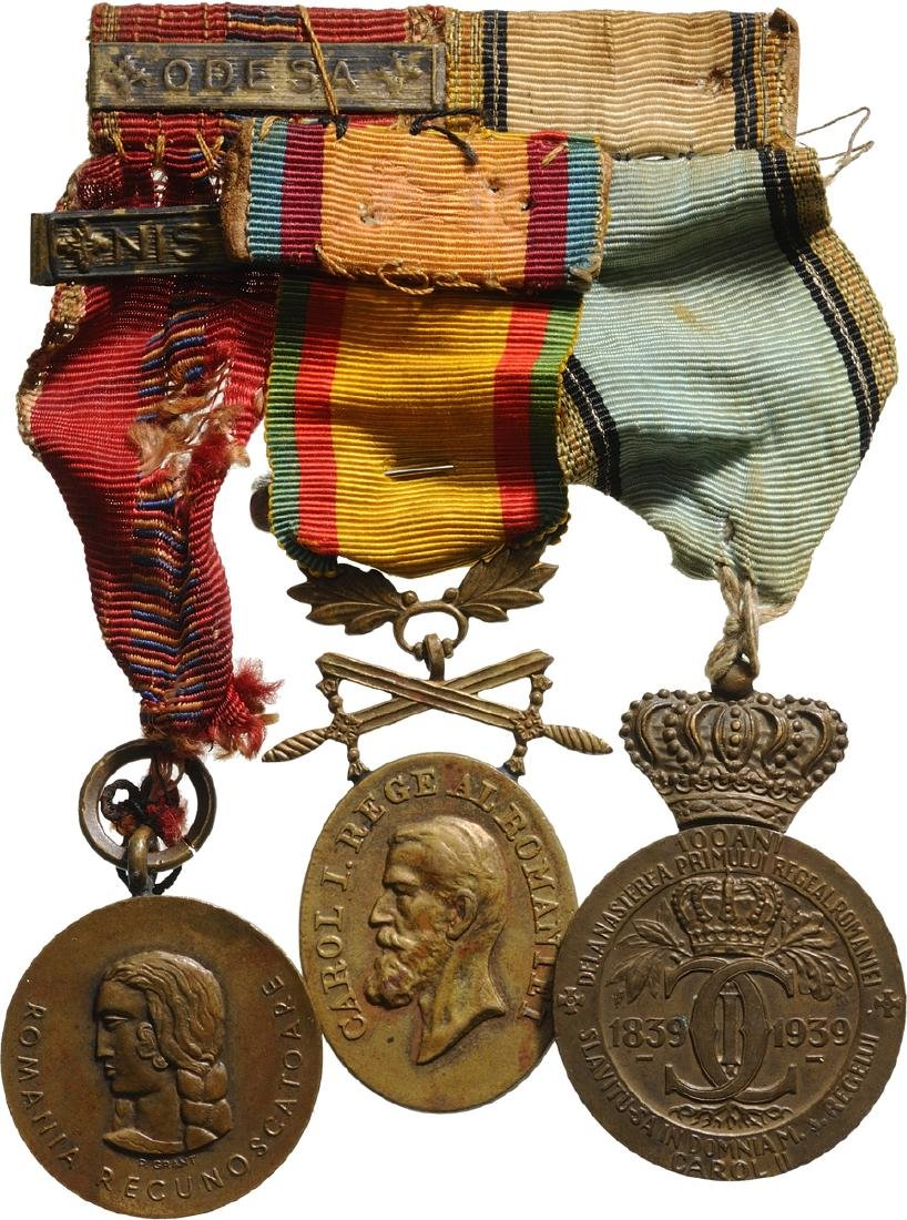 Bar of 3 Medals: Cruisade against Communism, bars