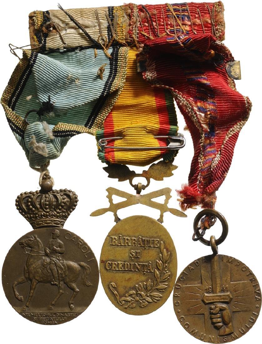 Bar of 3 Medals: Cruisade against Communism, bars - 2
